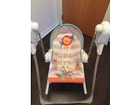 Fisher Price 3 in 1 Swing N Rocker
