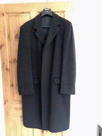 Men's Wool & Cashmere Suit Jacket Coat Overcoat (38 R)