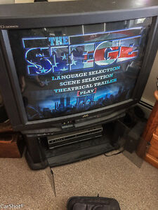 JVC D-series television with component hook-up