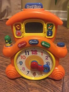 V Tech Learning Time Cuckoo Clock