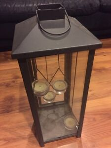 Hanging candle holder