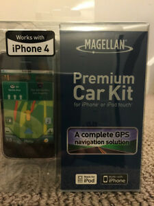 GPS Car Kit for iPhone 4, 4S & 3GS or iPod touch 3 & 4