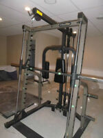 nautilus smith machine home gym