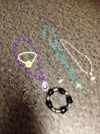 Girls mixed costume jewellery