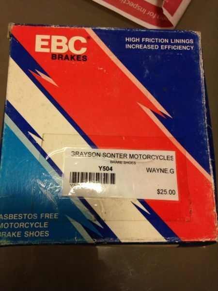 EBC  Y504  shoes   bnib free postage