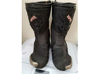 Viper Rider Motorcycle Boots Size 6