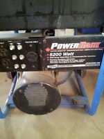 5200 watt generator for sale.- REDUCED