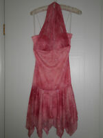 Womens pink sparkly size small dress