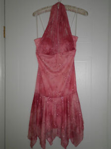Womens pink sparkly size small dress London Ontario image 1