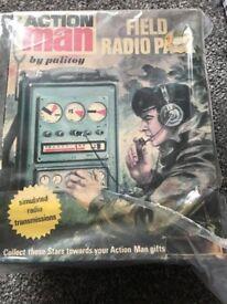 Action man field radio pack