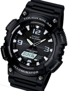 Casio Tough Solar-Light Powered Analog-Digital Watch