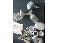 Philips Avent single electric breast pump and extras