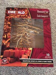 Christmas tree star Edmonton Edmonton Area image 1