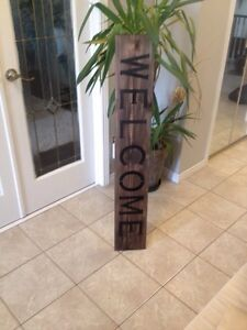 Welcome signs