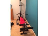 Trac 20 fit for life exercise bench multi trainer