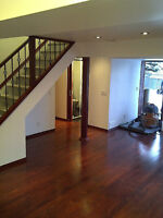 Solid Canadian Red Oak Stairs and Stair Components at an UNBEAT