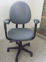 Rolling office chairs  $50