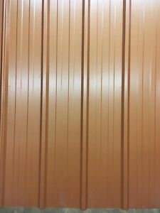 Copper pen tin siding
