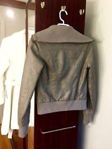 Faux leather jacket (coat) West Island Greater Montréal image 2