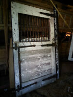 Two Heavy Duty Horse Stable Doors
