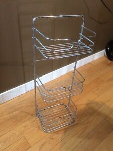 Free standing shower caddy