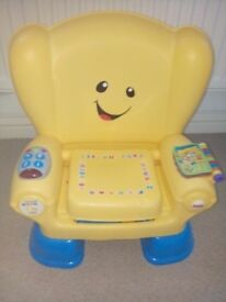Smart stages Reading chair by fisher price