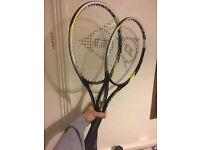 2x Dunlop rackets