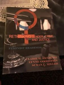 SELLING RETHINKING GENDER, CRIME AND JUSTICE (LIKE NEW)
