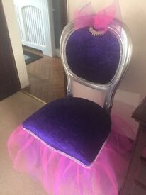 chair in ballerina theme stunning
