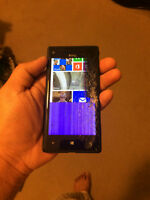 HTC windows phone 8X Rogers broken screen