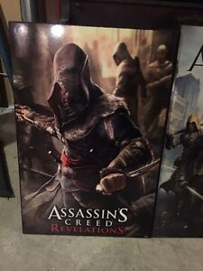 Selling wood assassins creed posters Belleville Belleville Area image 3