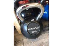 Brand new 32kg bell