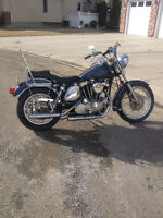 1978 Harley Davidson,  Ironhead Sportster, low miles, REDUCED $