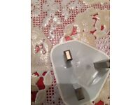 Brand new Official Original Apple wall charger and USB data cable iPhones and iPads