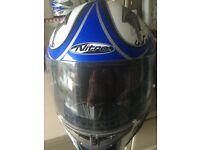Nitro alien motorbike helmet