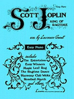 Scott Joplin King of Ragtime for Easy Piano Sheet Music Book NEW 000510356