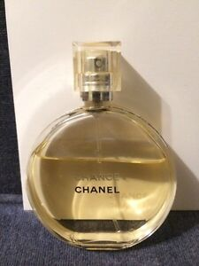 Mostly full bottle of french perfume! Chance by Chanel