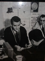 1950's Dick Clark's American Bandstand TV - 3 Candid Photoboards