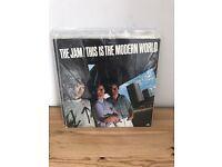 The Jam vinyl records albums lps