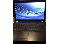 Acer Travelmate 5760 laptop, core i3 4gb ram 500gb hard drive charger windows 7 pro