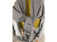 Cabot baby carrier + organic cotton