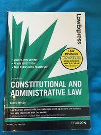 Law Express 'Constitutional and Administrative Law' Book