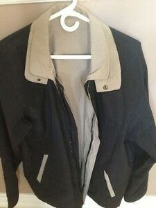 MENS SPRING or FALL JACKET - REVERSIBLE !!!