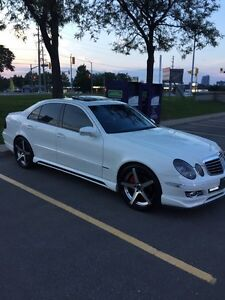 2009 MERCEDES E 300 4MATIC AMG PKG ONE OF A KIND