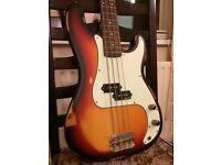 Vintage V4 Icon Bass Guitar