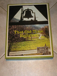 FOUR OLD-TIME STEREO 8-TRACK TAPES...THAT OLD TIME RELIGION...