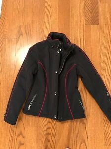 Warm but dressy fitted jacket, excellent quality and condition
