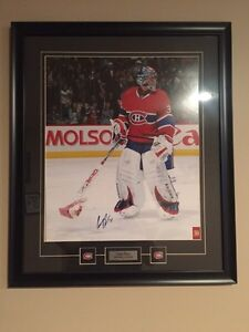 Autographed Carey Price photo.  Trades considered