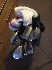 Junior Golf Clubs with Carrier
