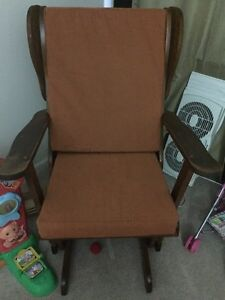 Lowered Price! Solid wood rocking chair